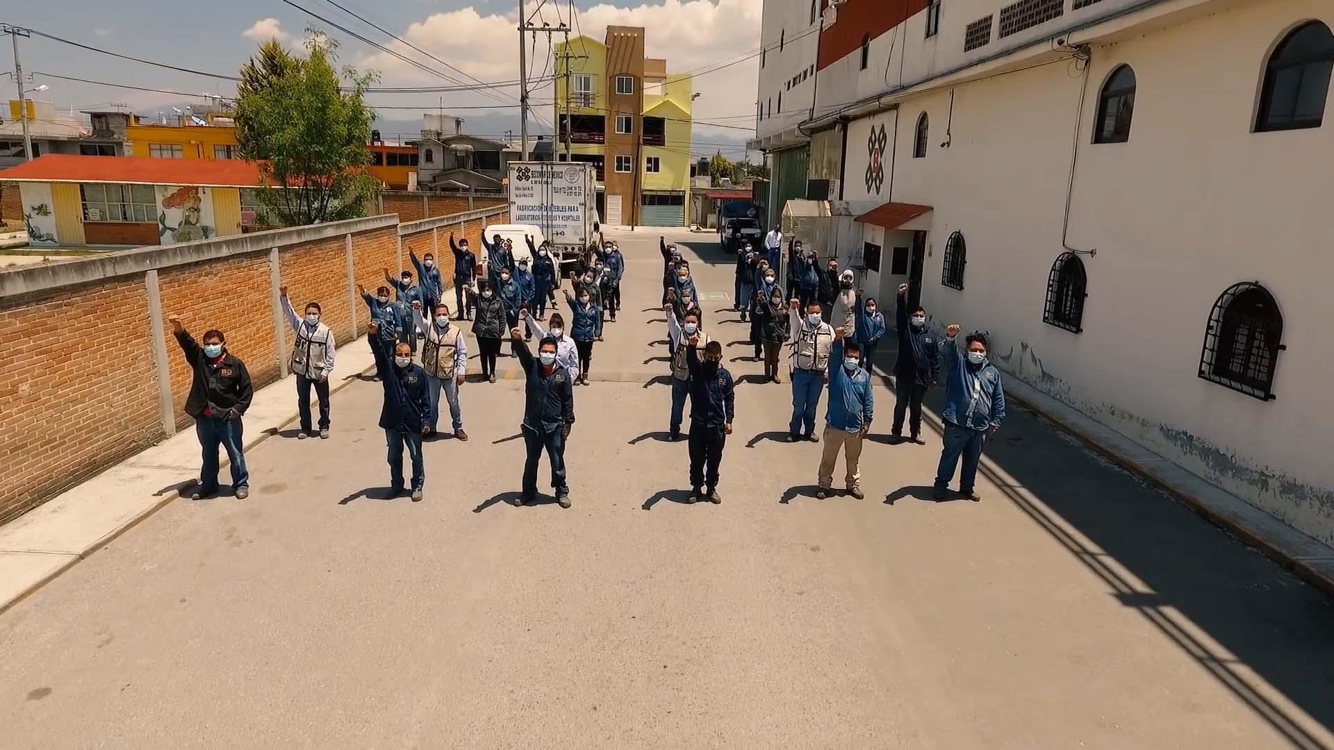 Empleados Becomar de México