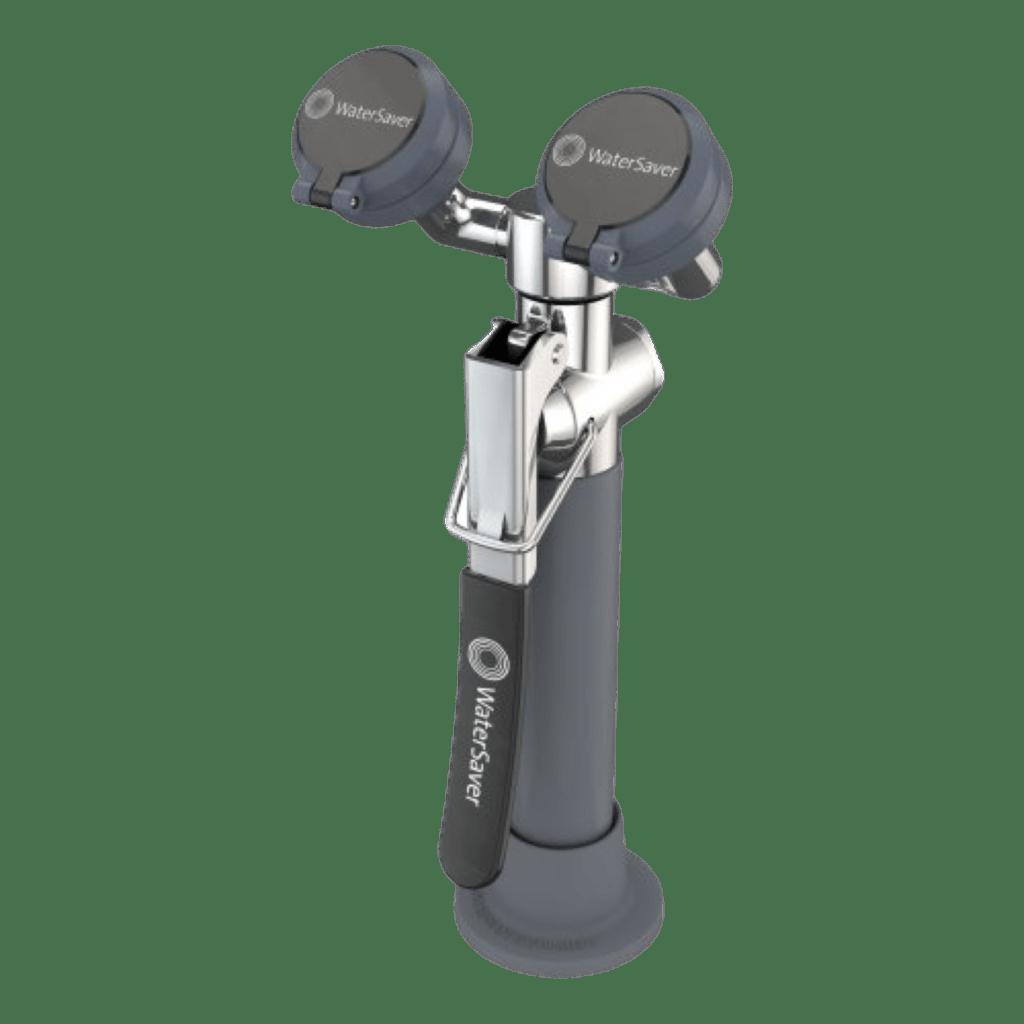 EW1022 Unidad de manguera para lavado de ojos / enjuague, montada en cubierta watersaver