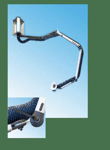 brazo de extracción movex PRB
